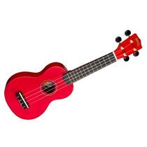 Frete Grátis - Mahalo U30g Ukulele Soprano Cordas Nylon Red