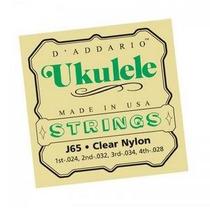 Encordoamento Para Ukulele Daddario J65 Nylon, 02355