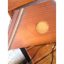 Harpa Antiga Em Nylon Madeira Delei