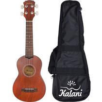 Ukulele Soprano Kalani Concert Acustico Tabaco 8134