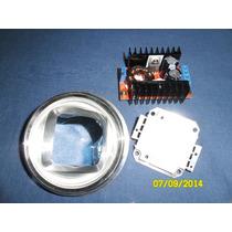Lente Focal Condensadora 60mm P/ Led, Projetor Diy,caseiro