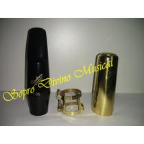Boquilha Kit Sax Tenor Vandoren Jumbo Java T95 Sm 614bk
