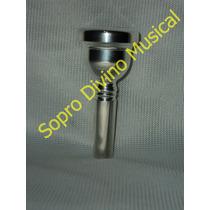 Bocal Prateado Weril 5gs Trombone Tenor Baixo Euphonium