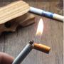 Isqueiro Formato De Cigarro - Recarregável A Gás
