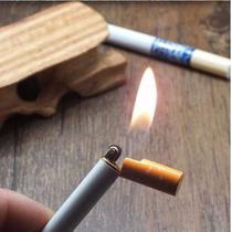Isqueiro Formato De Cigarro - Recarregável A Gás Pronta Entr