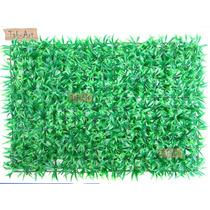 Grama De Jardim Artificial Placa Grande 59x40cm