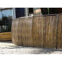 Cerca De Bambu E Ferro Kit 9,00m²