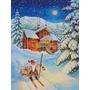 Natal Gnome Encabeçado Fora Flag Canvas Casa Tamanho Acg014
