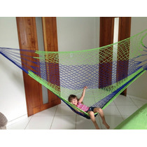 Rede De Dormir Descanso Nylon Camping