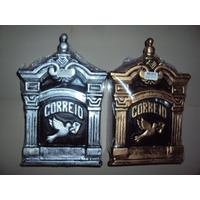 Caixa De Correio Colonial, Fundido Em Aluminio, Promoção