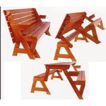 Projeto Cadeira Vira Escada + Mesa Vira Banco