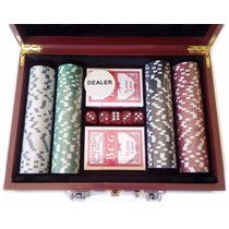 Maleta De Poker 200 Fichas Numeradas