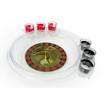 Roleta Com 6 Copos Para Drinks Drinking Roullete Set Md121