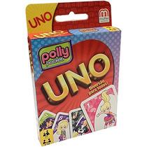 Jogo De Cartas Uno Polly Pocket Menina E Uno Fast - Mattel
