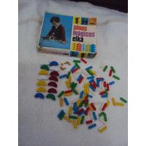 Brinquedo Antigo Pinos Mágicos Elka