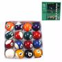 Bolas De Snooker Sinuca Bilhar 50mm 16 Peças Frete Gratis
