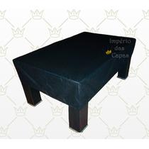 Capa Para Mesa De Bilhar / Sinuca Com Saia E Elástico - Luxo