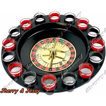 Jogo De Roleta Drink Shot 16 Copos Dose Drinking Roulette -