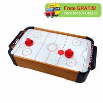 Mini Jogo Aero Game De Air Hockey Disco Ball