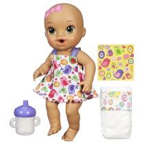 Baby Alive Hora Do Xixi Morena - Hasbro