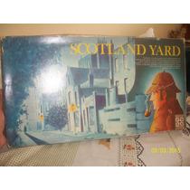 Jogo Scotland Yard Antigo Anos 80 Na Caixa Completo C- Manua