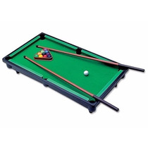 Jogo Mesa De Bilhar Snooker Infantil Sinuca Braskit Criança