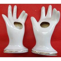 Mão Em Porcelana Vitrificada - Porta Caneta - A20