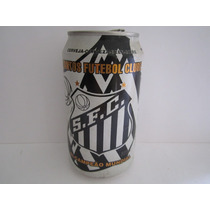 Lata De Cerveja Antiga Time Santos Futebol Clube