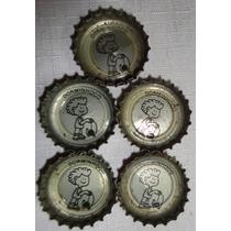Tampinha-coleção Coca Cola Manobra Ioio- Nº1-dorminhoco- S1