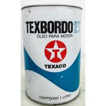 Lata Antiga De Óleo Texbordo 2t Texaco