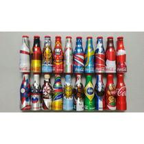 Coleção Mini Garrafinhas Coca-cola Da Copa Do Mundo 2014