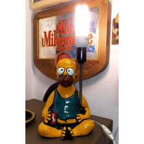 Abajur Homer Simpson Duff Sem Pantalha