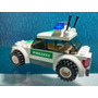Lego City 7236 - Carro Da Polícia Customizado.