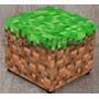 Puff Minecraft - Sedex Apartir De R$6,00