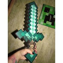 Espada De Esmeralda Minecraft Foam
