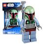 Relógio Lego Star Wars Boba Fett Toy Alarm Clock Rj !!!!!!