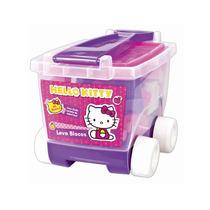 Blocos De Montar Da Hello Kitty Com Carrinho Menina Fun