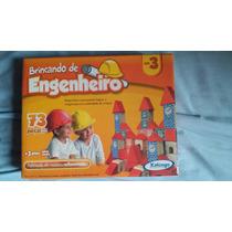 Brinquedo Brincando De Engenheiro 73peças Novo Lacra