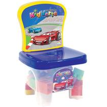 Brinquedo Bebe Kidverte Carros Blocos