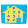Brinquedo Educativo Casa De Números Frete Grátis