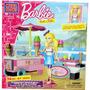 Mega Bloks - Barbie - Ice Cream Cart - 74 Peças