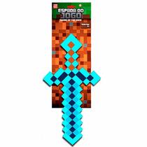 Espada Jogo Minecraft Diamante Ou Ferro Original - Picareta