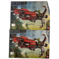 Manual Do Lego Bionicle 8943 Usado