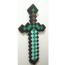 Espada Minecraft Diamante
