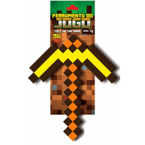 Picareta Minecraft Diamante Ouro Original Inmetro Espada Baú