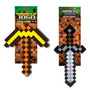 Espada E Picareta Minecraft Grande Selo Inmetro 2 Unidades