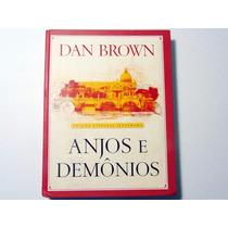 Livro Anjos E Demônios Edição Especial Ilustrada Dan Brown