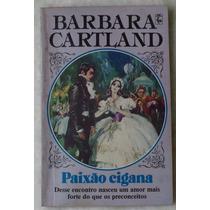 Livro Barbara Cartland Paixão Cigana