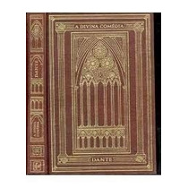 Livro A Divina Comédia - Dante Alighieri