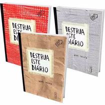 Kit Livros - Especial Destrua Este Diário (3 Volumes)